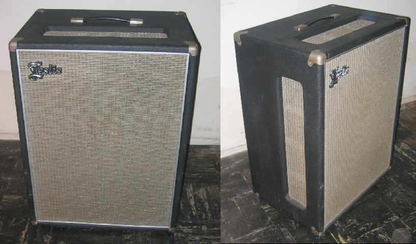 leslie also built a leslie 18  the vibratone and the leslie 16 were  essentially identical except for cosmetics