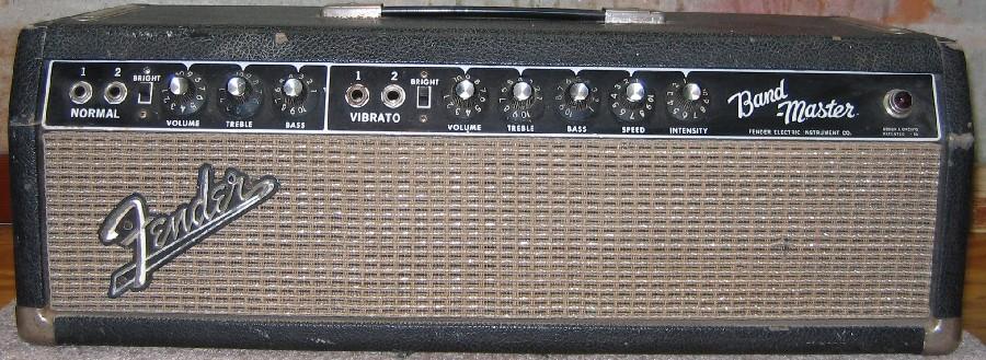 Regis's 1965 Blackface Bandmaster page on