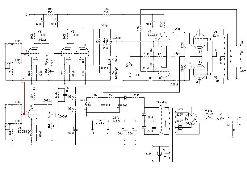 input jack wiring marshall plexi internally bridging channels on a marshall or traynor amp input jack wiring diagram