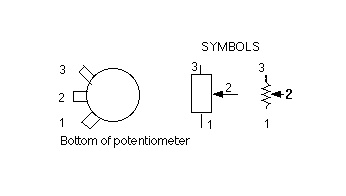 potentiometer wiring standard potentiometer wiring diagram